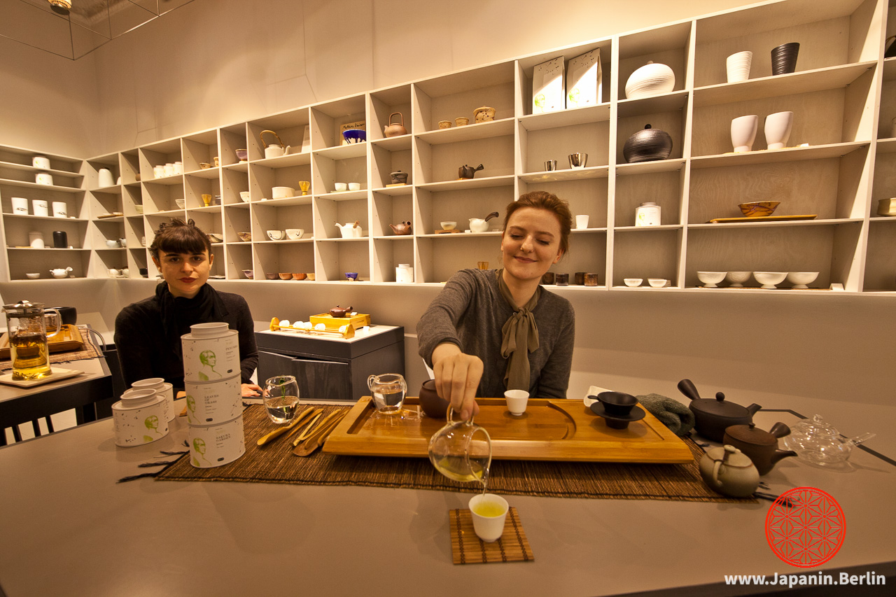 Tea-Tasting bei »Paper and Tea«