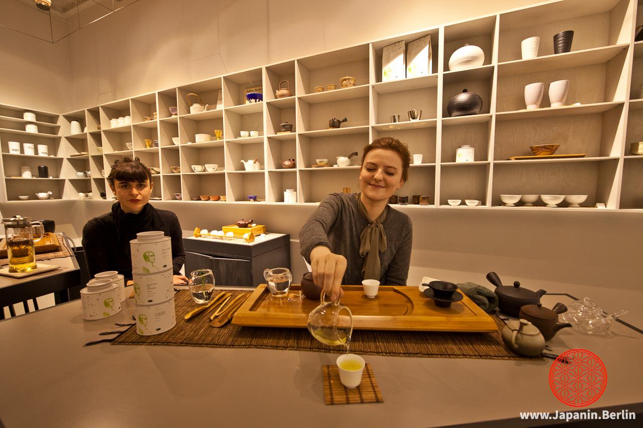 Tea-Tasting bei »Paper and Tea«