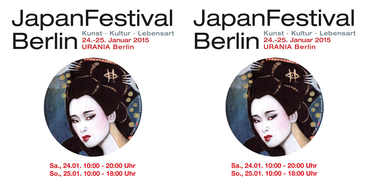 japanfestival berlin am 24 25 januar in der urania. Black Bedroom Furniture Sets. Home Design Ideas