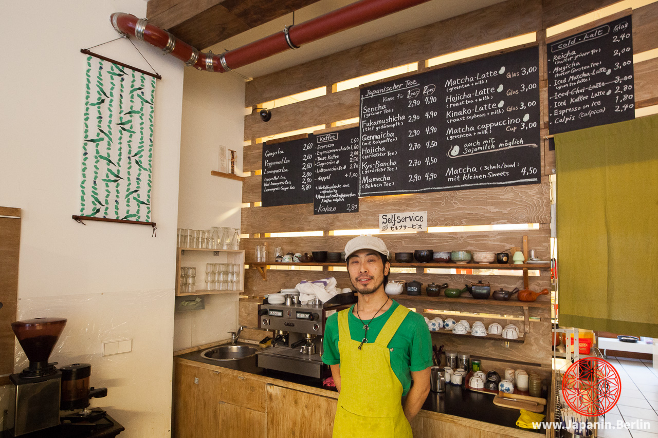 Hidetoshi Toya im Green Tea Café Mamecha
