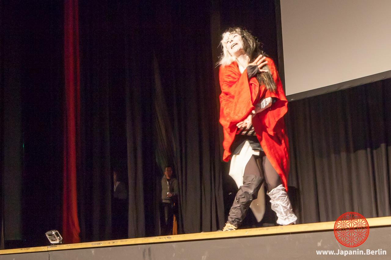 Kabuki Vorführung von Hotaka Hagiwara
