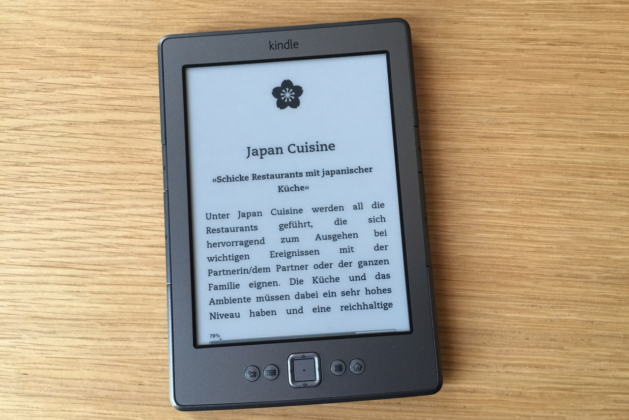 """Japan in Berlin"" für Android, Kindle und Tolino"