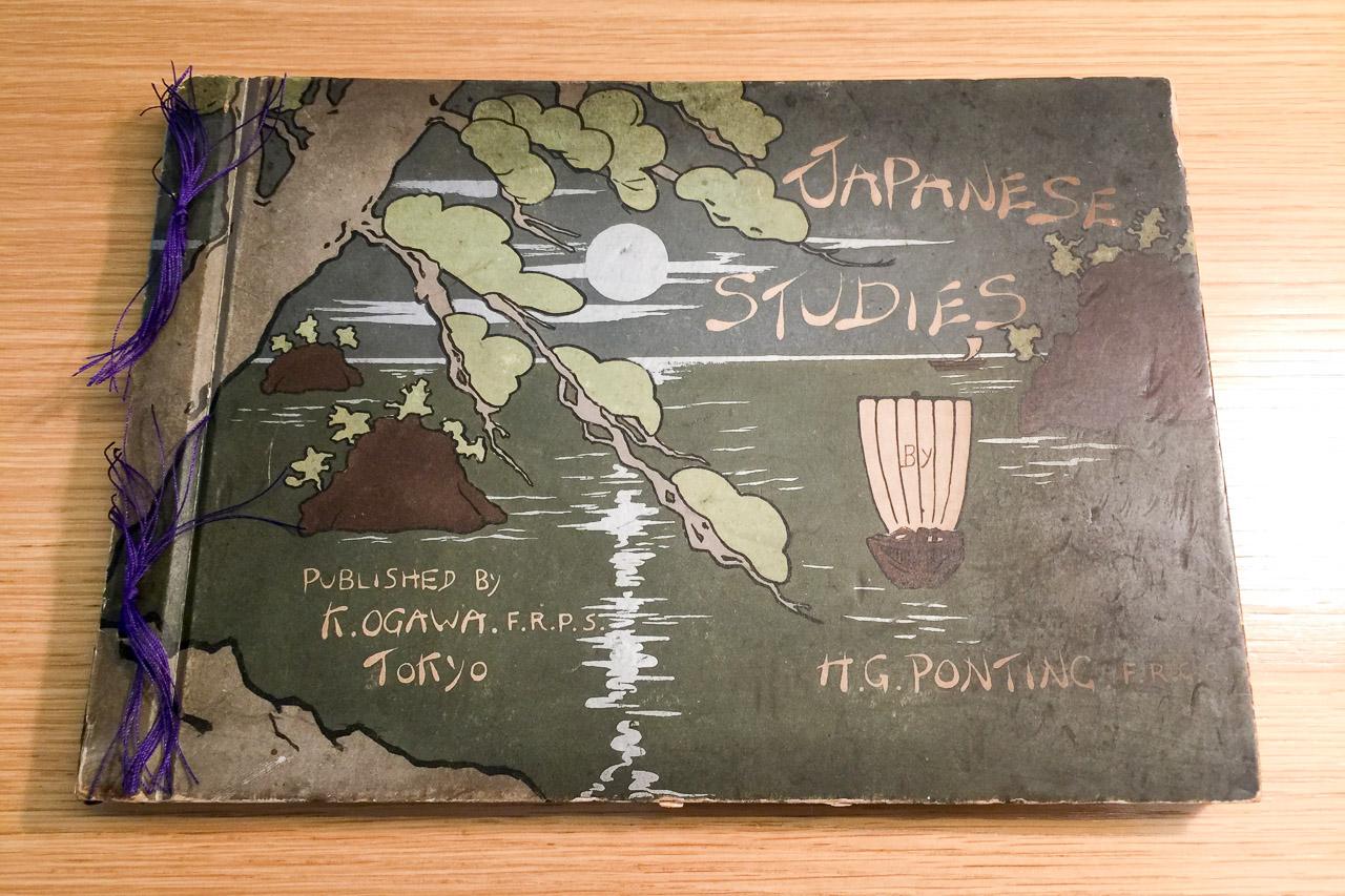 Restauration eines alten Buchs aus Japan