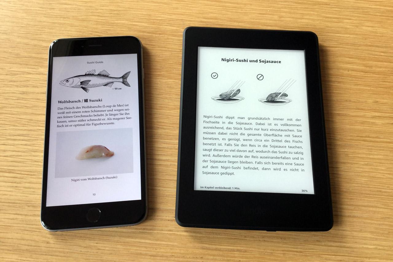 """""""Sushi Guide"""" jetzt auch als E-Book"""